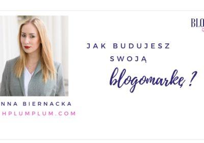 Jak budujesz swoją blogomarkę? Odpowiada Ashplumplum